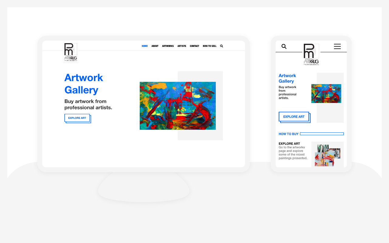 Thumbnail of Web Design and Development for Art Selling Startup
